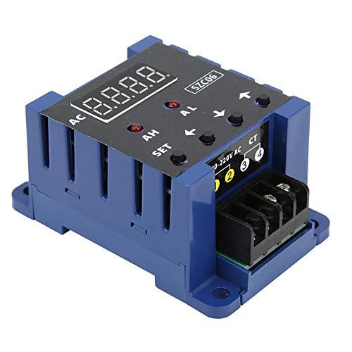 Medidor de corriente amperímetro digital 100% nuevo AC110‑220V SZC06 con funciones de salida de alarma(100A)