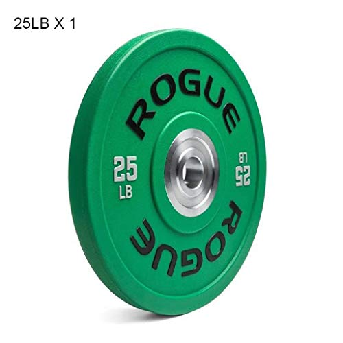 Barbell Plates Olympic Bumper Weighted Plate Barbells Plates Single Weight Plates for Barbell or Dumbbell for Home Gym Bodybuilding Weightlifting Crossfit 10lbs/25lbs/35lbs/55lbs Weight Plates Barbell