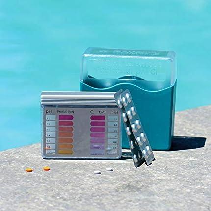Bayrol PoolTester 287123 - Tabletas para la medición de PH y cloro en piscinas, 2 x 20 tabletas