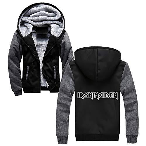 Unisex Iron Maiden Sudaderas Abrigo invierno for hombre