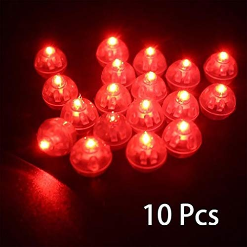 RG-FA 10 Stück Mini LED Licht Ball Lampe für Ballon Laterne Geburtstagsfeiern Dekoration