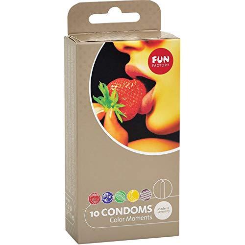 Fun Factory COLOR MOMENTS - kleurrijke condooms met smaak 10