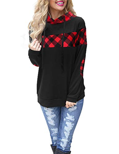 Top 10 Best Red and Black Checkered Hoodies Women's Comparison