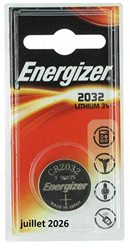 ENERGIZER Lot de 3 Blisters de 4 Piles Lithium CR 2032 Maxi