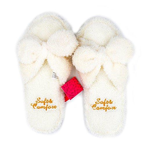 Millffy Zapatillas de Peluche Zapatillas de Peluche de Interior Zapatillas de Peluche de...