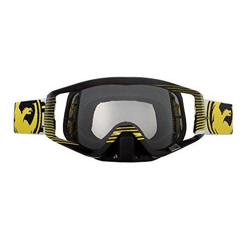 Dragon Vendetta Goggles Nerve Yellow Motocross FMX Enduro klare Linse Snowboard