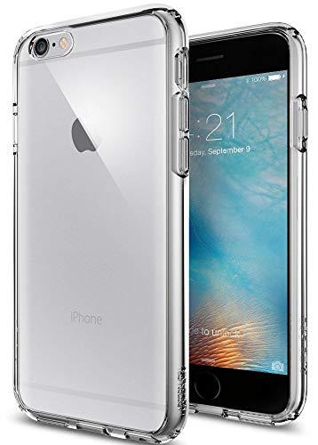 Spigen iPhone 6S Hülle, [Ultra Hybrid] Luftpolster-Technologie [Space Crystal] Durchsichtige Rückschale & TPU-Bumper Schutzhülle für iPhone 6/6S Case, iPhone 6/6S Cover - Space Crystal (SGP11599)