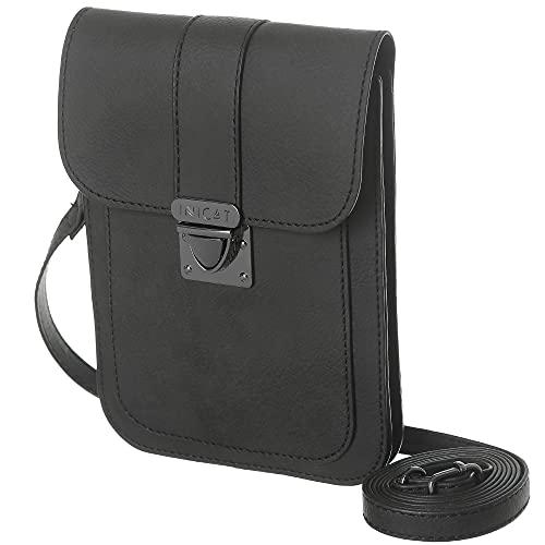 MINICAT Crossbody Cell Phone Purse Pouch Card Slots Small Crossbody Bags Shoulder bag Handbag for Women(Black 2)