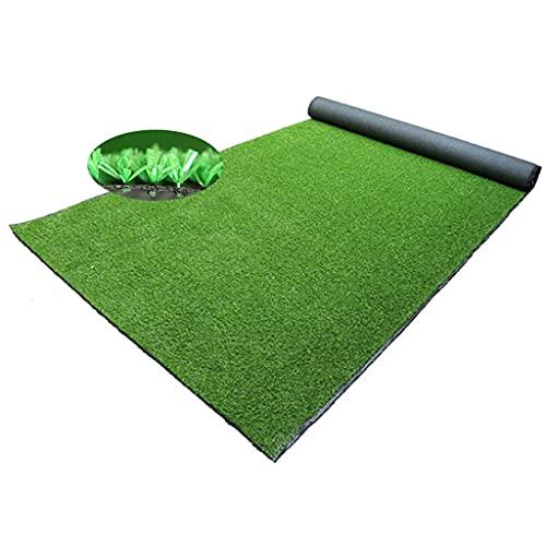 Kunstrasen grünen Anti-UV für Indoor-Garten Wanddekoration Rasenmatte Balkon Innen- / Außen-Eingang Balkon Teppichmatte Hohe Qualität und hoher Dichte Kunstrasen durchlässig und Entwässerung können