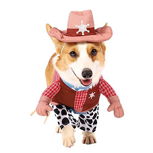 Spooktacular Creations Pet Halloween Cowboy Dog Costume (X-Large)