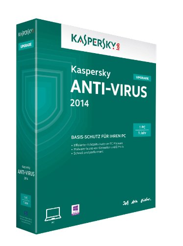 Kaspersky Anti-Virus 2014 Upgrade - 1 PC