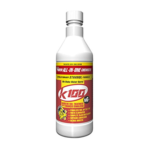 K-100 MG 403 Gasoline Fuel Treatment with Enhanced Stabilizers 32 oz.