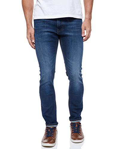 Lee Luke Pants Jeans, Dark Diamond Ft, 30W / 34L para Hombre