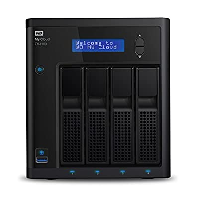 WDMy Cloud EX4100 Expert Series 4-Bay Network Attached Storage