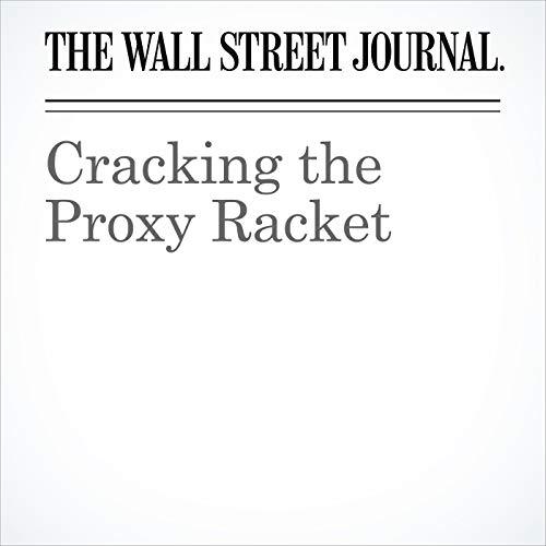 Cracking the Proxy Racket copertina