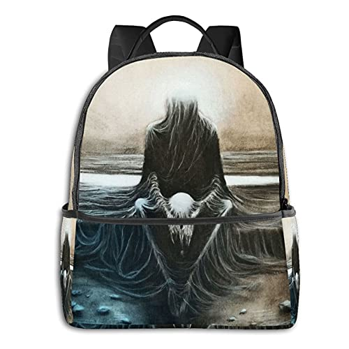Copy From Zdzisaw Beksi¨½ski School Bag Student Backpack Cycling Travel Bag Outdoor Backpack For Girls Boys
