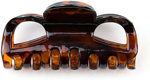 Mytoptrendz® deliktrechts braun Haarklammer Grip flach Haarklammer Haar Zubehör für Hochsteckfrisuren