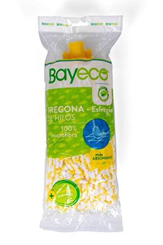Bayeco Fregona, Microfibra, Amarillo, Talla única