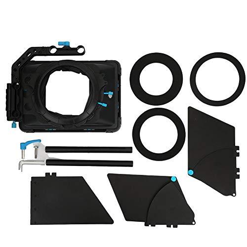 Yctze Matte Box, DP3000 M3 Cámara giratoria profesional Matte Box Disparo con cámara Siga el foco Sombrilla para A7