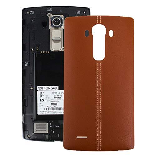 Tangyongjiao Contraportada con Pegatina NFC for LG G4 (Color : Brown)