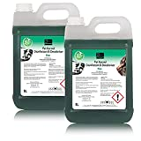 10L of The Chemical Hut Antibacterial Disinfectant Cleaner For Pet Dogs Cats Kennel Cattery House 2x Pine