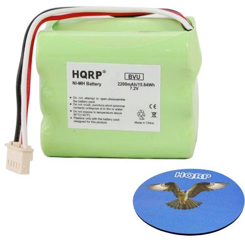 HQRP 2200mAh Extended Battery for Mint+ 5200 Mint Plus 5200, 5200c, 5200B, Braava 380 380t 390t GPRHC202N026 11003067-00 iRobot Robot...
