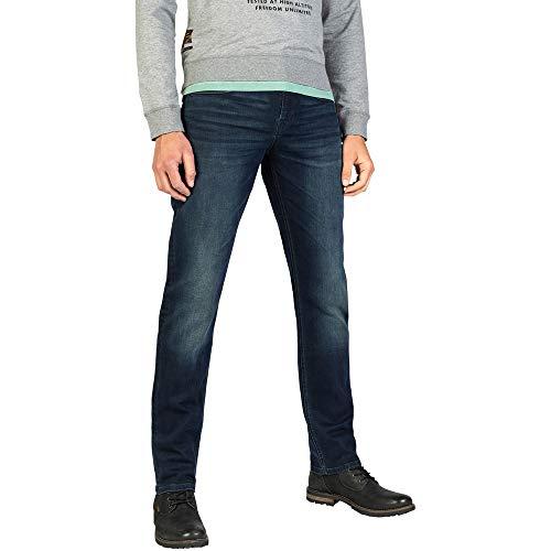 PME Legend Herren Jeans AIRLINER Night Used Blue Straight Fit, Größe:34/32, Farbe:NUB
