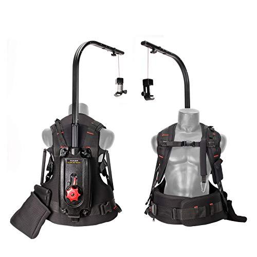 FLYCAM Flowline Master Professional Body Support Vest System per DJI Ronin / MOVI Gimbal Stabilizzatori e Videocamera Camcorder (4-12kg/9-27lb) (FLCM-FLN-MSTR-01)