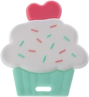 Biuuu 安心のおしゃぶり 噛がため シリコーン おしゃれな歯固め 授乳看護用 新生児歯科治療 かわいい雲 [BPAフリー]