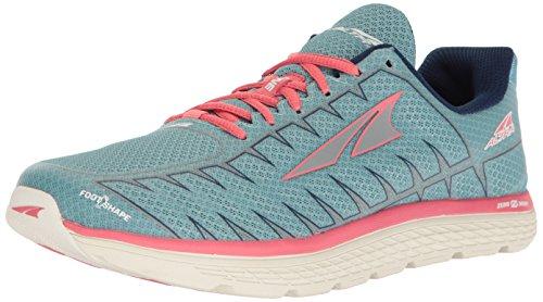 ALTRA Women's One V3 Running Shoe, Light Blue/Coral, 6.5 B US