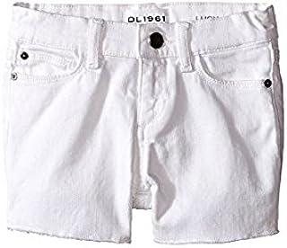 ディーエル1961 DL1961 Kids キッズ 女の子 ショーツ ハーフパンツ Snowcap Lucy Cut Off Shorts in Snowcap (T [並行輸入品]