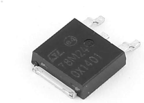 NEW LON0167 78M24 5-24V 0.5A 3 Terminal Transistor Positivo Regulador de voltaje IC(78M24 5-24 ν 0.5A 3-Pol-Transistor-Spannungsregler-IC