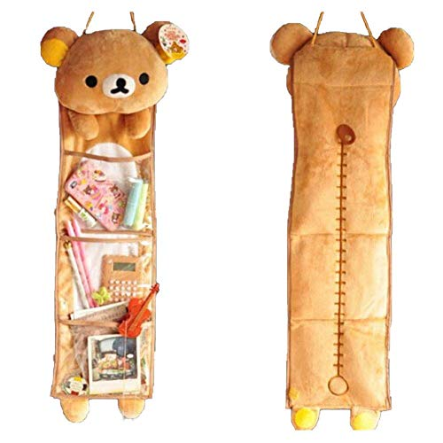 BSGP 1 x niedliches weiches Plüschtier Rilakkuma Lange hängende Aufbewahrungstasche Spielzeug Heimdekoration Geschenk für Mädchen Jungen