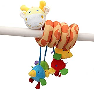 Bazaar Babies Kids Bed Around Educational Handing Toy Lovely Animal Giraffe Plush Soft Toy