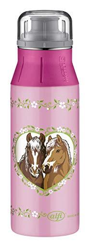 alfi elementBottle Trinkflasche, Edelstahl, Pferde Rosa, 0,6 Liter