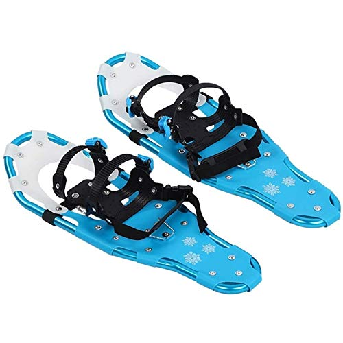 SOAR Raquetas Nieve Zapatos de nieve al aire libre, marco de aluminio, campo de nieve ligero y flexible, zapatos de nieve para caminar flexibles, zapatos de patines portátiles para exteriores de esquí