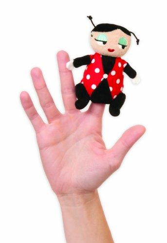 Manhattan Toy - 144540 - Marionnette à Doigt - Miss Ladybug