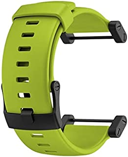 SUUNTO Core Crush Replacement Silicone Strap (Lime)
