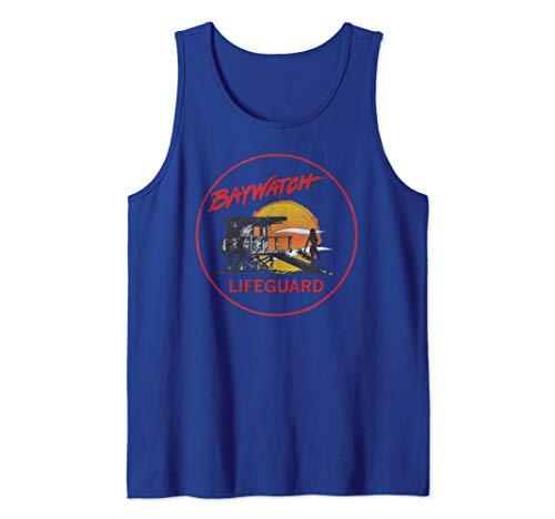 Baywatch Lifeguard Tower Tank Top, 5 Colors, Men, Women