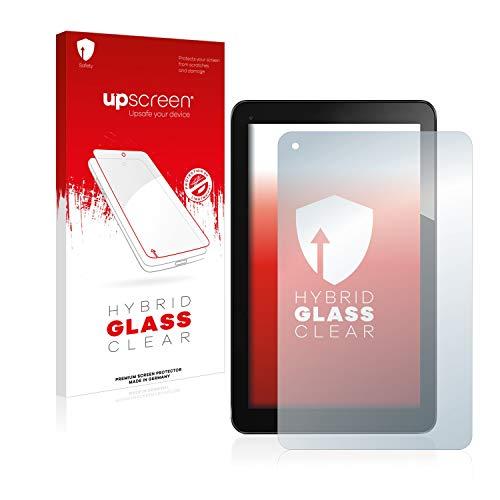 upscreen Hybrid Glass Panzerglas Schutzfolie kompatibel mit Odys Lux 10 9H Panzerglas-Folie