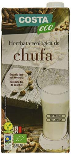 Costa Eco - Horchata de Chufa Ecológica, 6 x 1L
