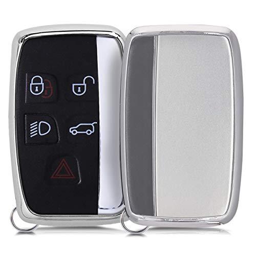 Für Porsche Zubehör Autoschlüssel Hülle Schlüssel Halter Schale Handschuh Silber