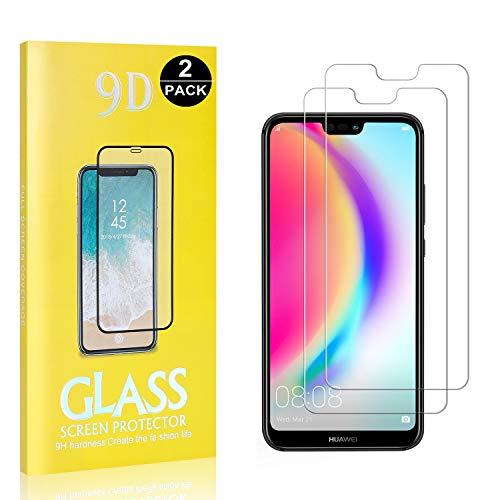 3D Touch Ultra Transparent 1 Pi/èces GIMTON Verre Tremp/é pour Huawei P20 Lite Anti Rayures 9H Protection en Verre Tremp/é /Écran pour Huawei P20 Lite