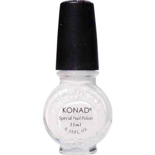 Esmalte especial 11ml g1 WHITE (BLANCO MATE), Konad Original