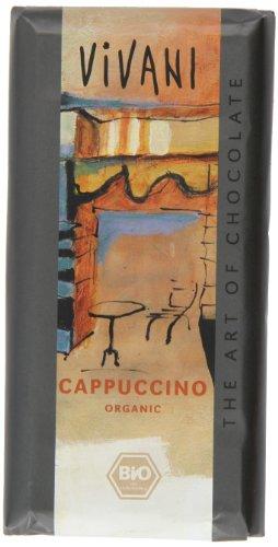 Vivani Cappucchino Schokolade  100g, 5er Pack (5 x 100 g) - Bio