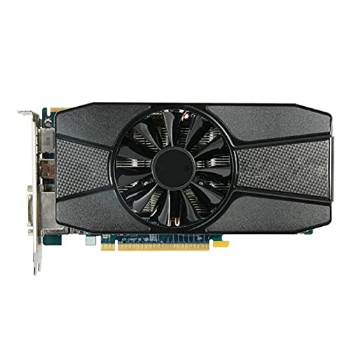 Fit for Sapphire Radeon HD 7770 2GB Tarjetas gráficas GPU para AMD HD7770 2G GDDR5 Tarjetas de Video PC Juegos de computadora HDMI PCI-E X16