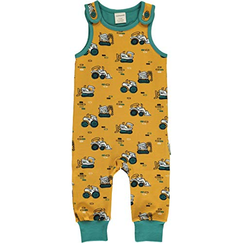 Maxomorra Baby Playsuit Brick Builders 74/80