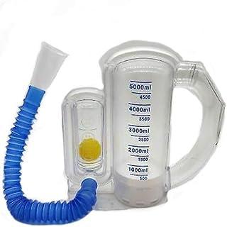 Incentive Spirometer 5000mL, Professional Deep Breathing Exerciser Lung Trainner