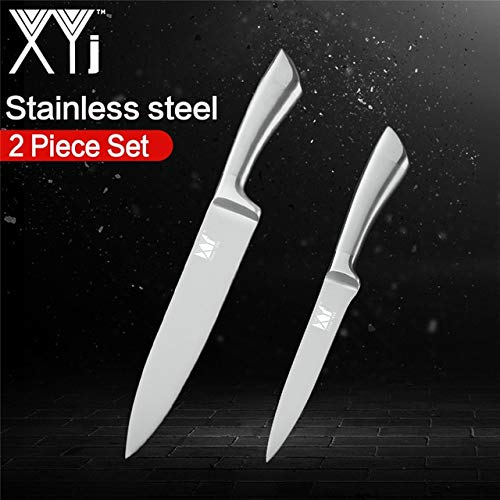 Best Quality Stainless Steel Kitchen Knife Set Chef Slicer Bread Utility S Paring Knife 2 Piece 7Cr17mov Cooking Knives Kitchenware