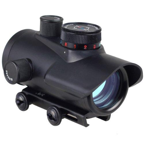 Leuchtpunktvisier für Softairwaffen und Armbrüste Red Dot Rotpunkt - Leuchtpunkt - Visier mit 20 mm Weaver